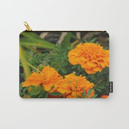 Orange Attraction Carry-All Pouch