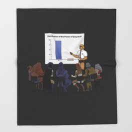 I HAVE THE POWERPOINT! Throw Blanket