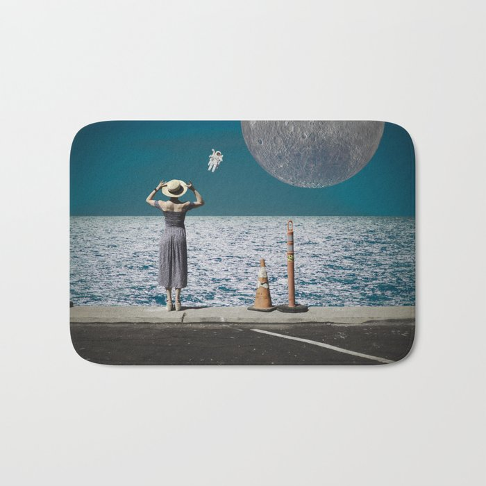 Life from another Planet Bath Mat