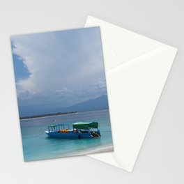 The island life Stationery Cards