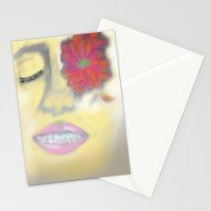 Flower Eye Stationery Cards