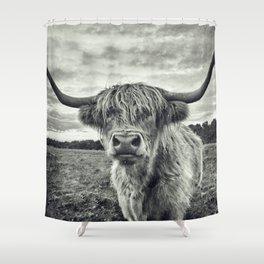 Highland Cow II Shower Curtain