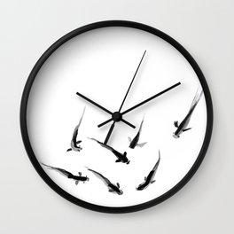Ink Pond Wall Clock