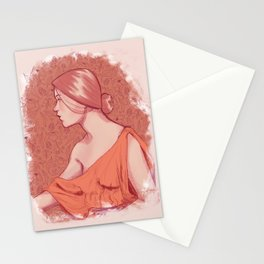 Floral Maiden Stationery Cards