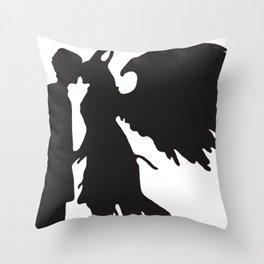 Demon love Throw Pillow