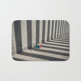 Rubik shading stripes Bath Mat