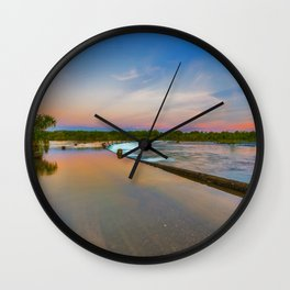 Colours of Ivanhoe Crossing Wall Clock