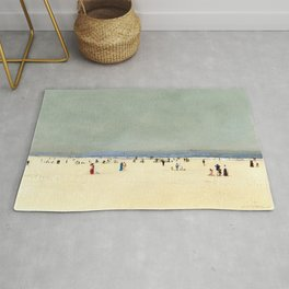 Sand, Sea and Sky: A Summer Fantasy by John Atkinson Grimshaw Rug