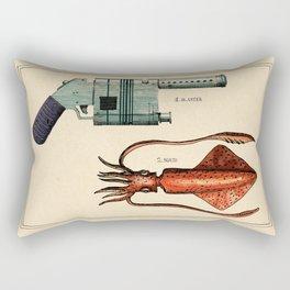 Squid Blaster Rectangular Pillow