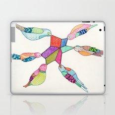 Pretty Birds Laptop & iPad Skin