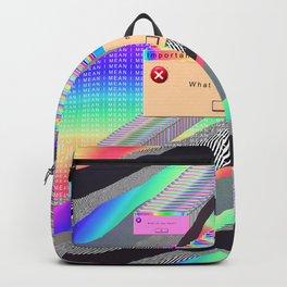 Error Tab Vaporwave Backpack