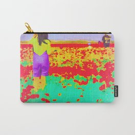 ..Tell Me A Story With Flowers.. Carry-All Pouch