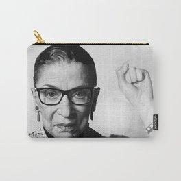 RBG Ruth Bader Ginsburg Drawing Jane Fonda Mug Shot Mugshot Carry-All Pouch