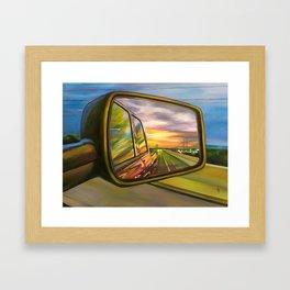 """""""Don't Look Back"""" Framed Art Print"""