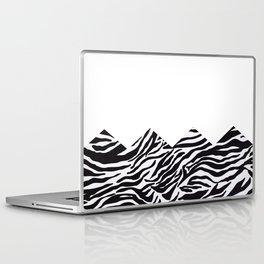 half zebra Laptop & iPad Skin