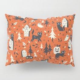 Cemetery Cuties (Orange) Pillow Sham