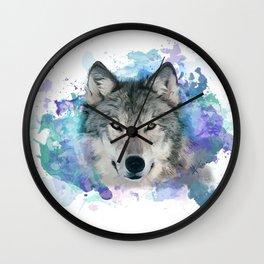 She Wolf Wall Clock