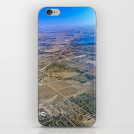 Superman's perspective iPhone Skin