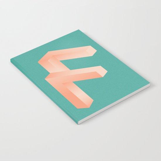 Futuristic F Notebook