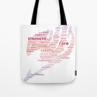 fairy tail Tote Bags featuring A Fairy Tail by Eymica88