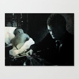 Swede's Story from the CineManArt series Canvas Print