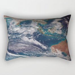Earth : The Blue Marble Rectangular Pillow