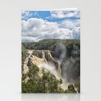 geology Stationery Cards featuring Beautiful Barron Falls by Wendy Townrow