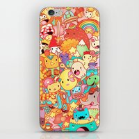 kpop iPhone & iPod Skins featuring Wackoblast! by Sillyrabs