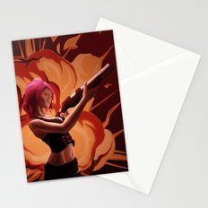 Steampunk Explosion Stationery Cards