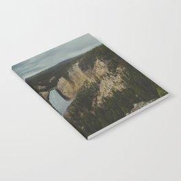 Yellowstone National Park Falls Notebook