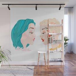 Two Halseys Wall Mural
