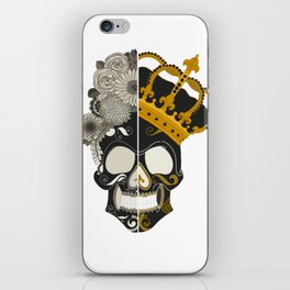 The Skull Equals iPhone Skin