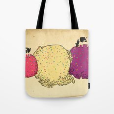 Cows love ice cream Tote Bag