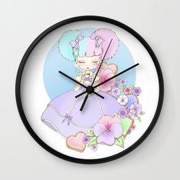 Sugary Tea Time Wall Clock