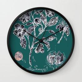 Tree Plant Wall Clock