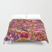 renaissance Duvet Covers featuring Renaissance Fair by Teri Newberry