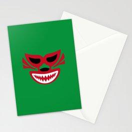 mascaras5 Stationery Cards