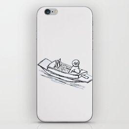 Floating Market iPhone Skin
