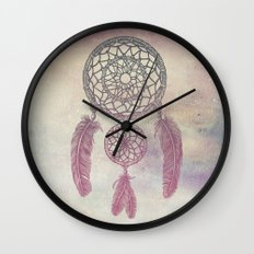 Double Dream Catcher (Rose) Wall Clock