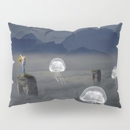 Jelly Fish Valley Pillow Sham