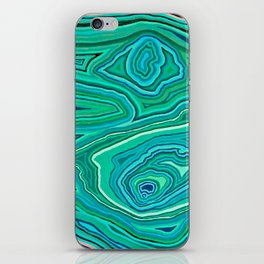 After Malachite iPhone Skin