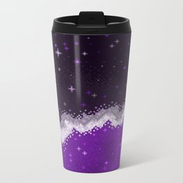 Ace Pride Flag Galaxy Metal Travel Mug