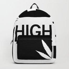 HIGH LANE AHEAD Backpack
