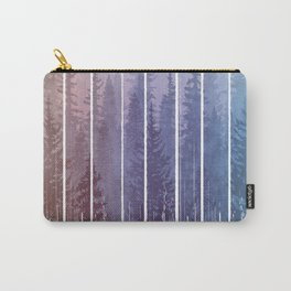 Grunge Dripping Rainbow Misty Forest Carry-All Pouch