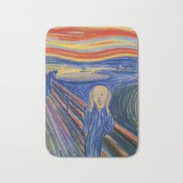 The Scream by Edvard Munch Bath Mat