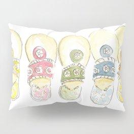 Jack Rogers Rainbow Pillow Sham