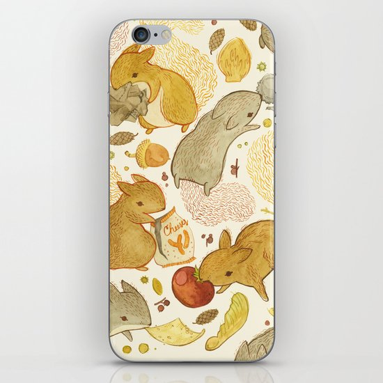 Things Squirrels Probably Shouldn't Be Eating iPhone & iPod Skin