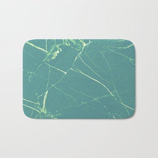 Turquoise Marble #society6 #buyart #decor Bath Mat