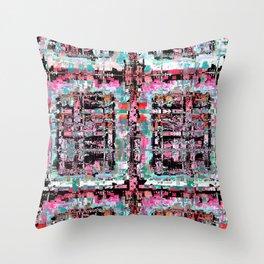 Scrambled Throw Pillow