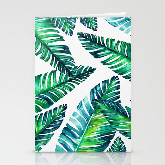 Live tropical I Stationery Cards